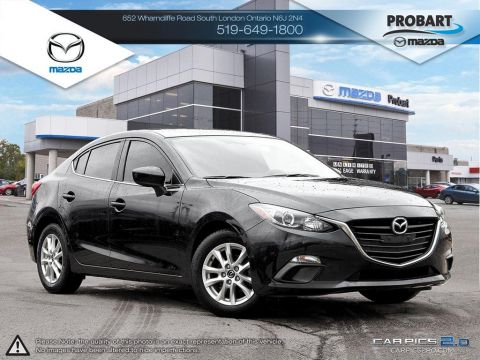 Pre-Owned 2014 Mazda 3 | GS | Cruise | Bluetooth | Heated Seats FWD 4dr Car