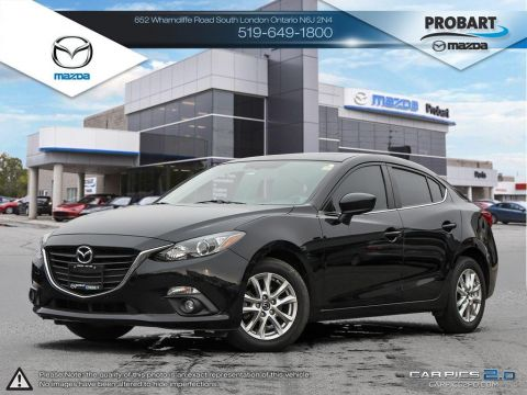 Pre-Owned 2015 Mazda3 | Cruise | Bluetooth | Heated Seats | Backup Camera FWD 4dr Car