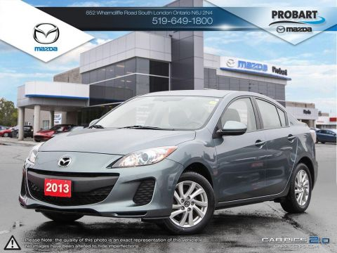Pre-Owned 2013 Mazda3 | Cruise | Bluetooth | Heated Seats | USB FWD 4dr Car