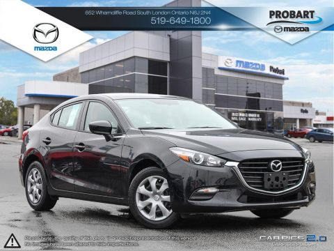 Pre-Owned 2017 Mazda 3 | GX | USB | Push Button Start | Low Mileage FWD 4dr Car