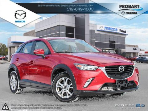 Pre-Owned 2016 Mazda CX-3 | GS | AWD | Cruise | Bluetooth | Backup Camera AWD