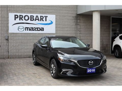 Pre-Owned 2016 Mazda6 GT With Navigation