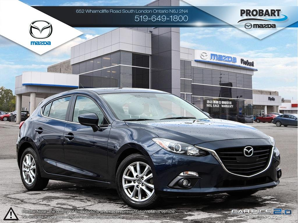 Pre-Owned 2015 Mazda 3 | GS | Cruise | Bluetooth | Backup Camera
