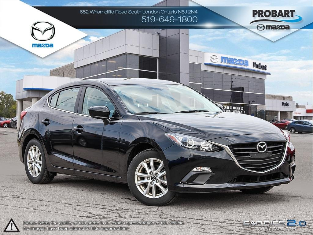 Pre-Owned 2015 Mazda 3 | GS | Cruise | Bluetooth | Heated Seats
