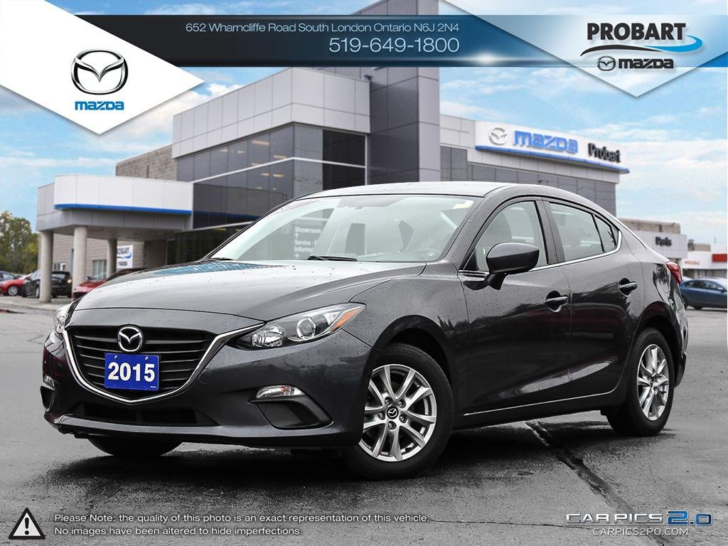 Pre-Owned 2015 Mazda3 | Back-Up Camera | Bluetooth | Heated Seats | Cruise Control