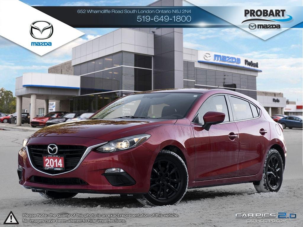 Pre-Owned 2014 Mazda 3 | GS | Heated Seats | Backup Camera | Bluetooth