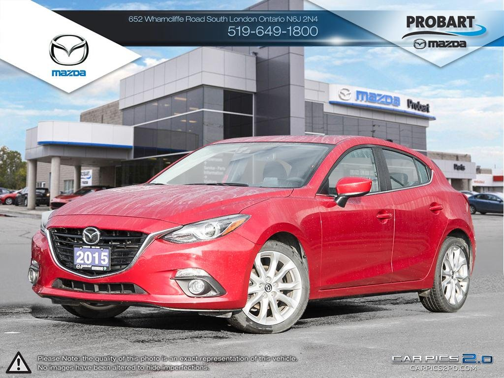 Pre-Owned 2015 Mazda3 Tech Package | Leather | Moonroof | NAV