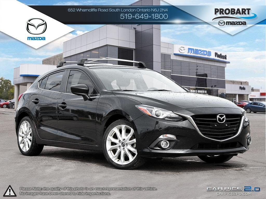 Pre-Owned 2015 Mazda 3 Sport | GT | Leather | Moonroof | Heated Seats | Bose